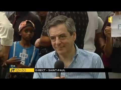 Interview de François Fillon à La 1ère