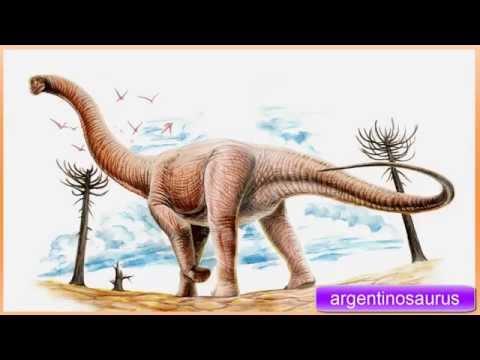 efeito sonoro de dinossauros, argentinosaurus - sound effect of dinosaurs,  アルジェンティノサウルス