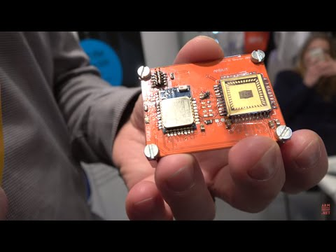 "Delta custom ASIC design for IoT integrates ""Thor"" NFC sensor integration chip"