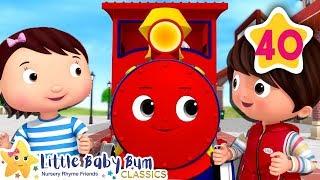 Choo Choo Train V2 | Little Baby Bum | Baby Songs & Nursery Rhymes | Learning Songs For Babies