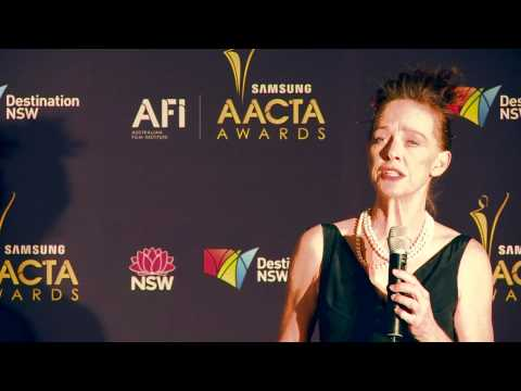 Judy Davis, media room, AACTA AWARD FOR BEST LEAD ACTRESS - The Eye Of The Storm