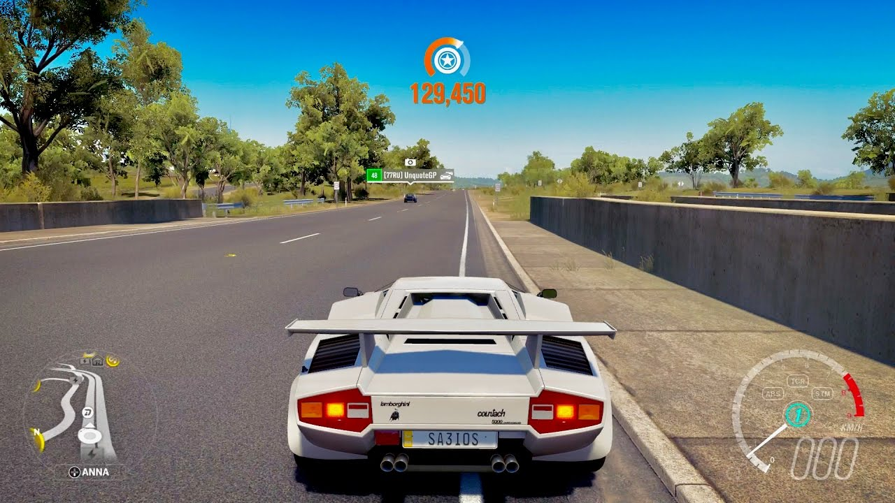 Forza Horizon 3 Lamborghini Countach Lp5000 Qv Youtube