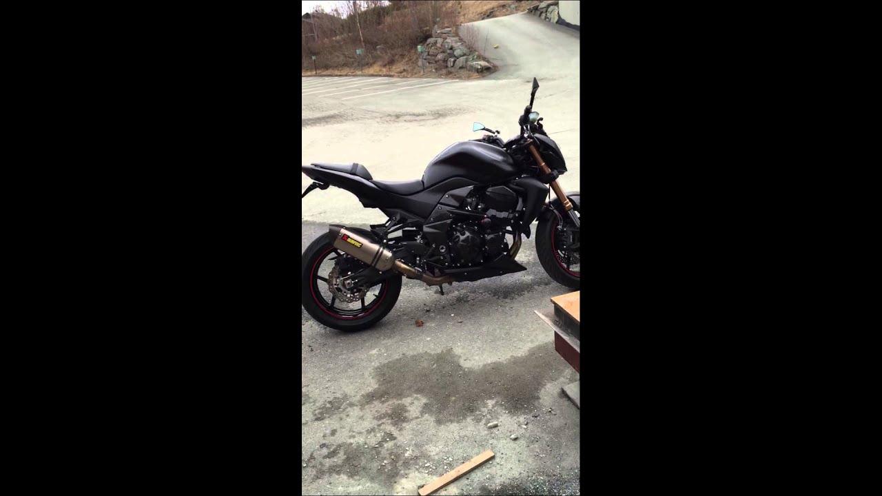 Kawasaki Z750R 2012 Black Edition Review