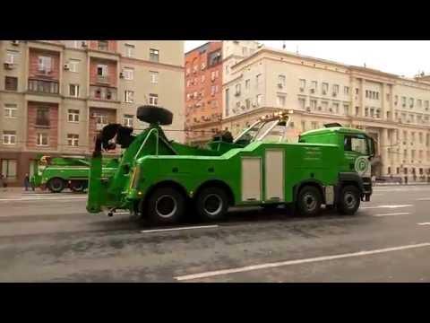 Первый парад городской техники (полная версия) Москва 2016