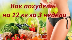 Как похудеть на 12 кг за 3 недели.Секреты и советы//How to lose weight by 12 kg in 3 weeks