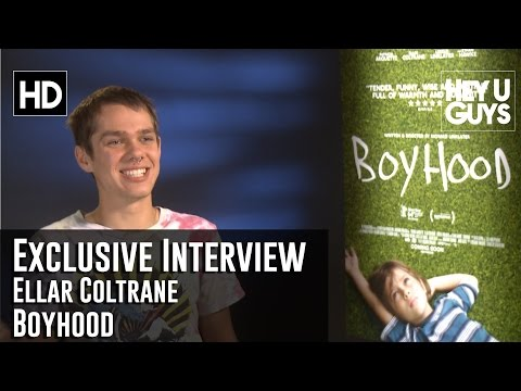 Ellar Coltrane Exclusive Interview - Boyhood