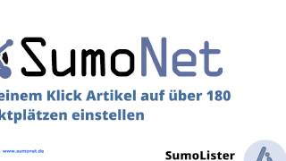 SumoNet Präsentation