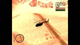 Как угнать вертолет у полицейских в Gta San Andreas