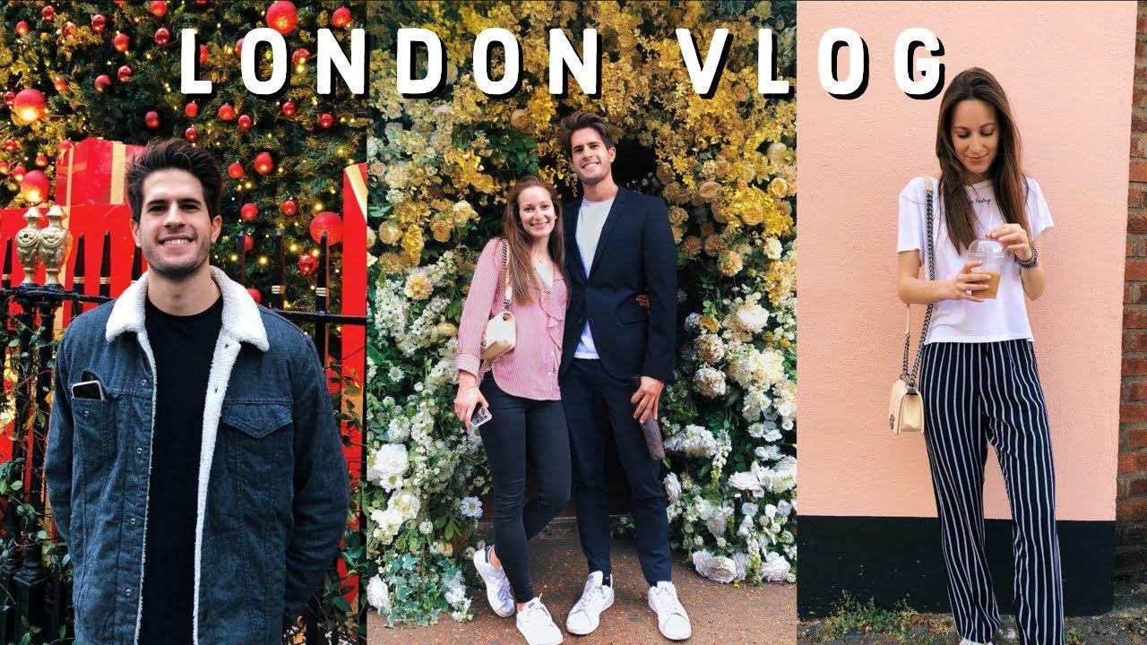 LONDON VLOG WITH MY GIRLFRIEND | KharmaMedic x AlexiaMiliaresi