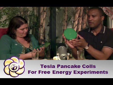 Tesla Pancake Coils For Free Energy Experiments