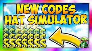 *1* NEW CODE 💎[Update!] 💎🎩 Hat Simulator ROBLOX