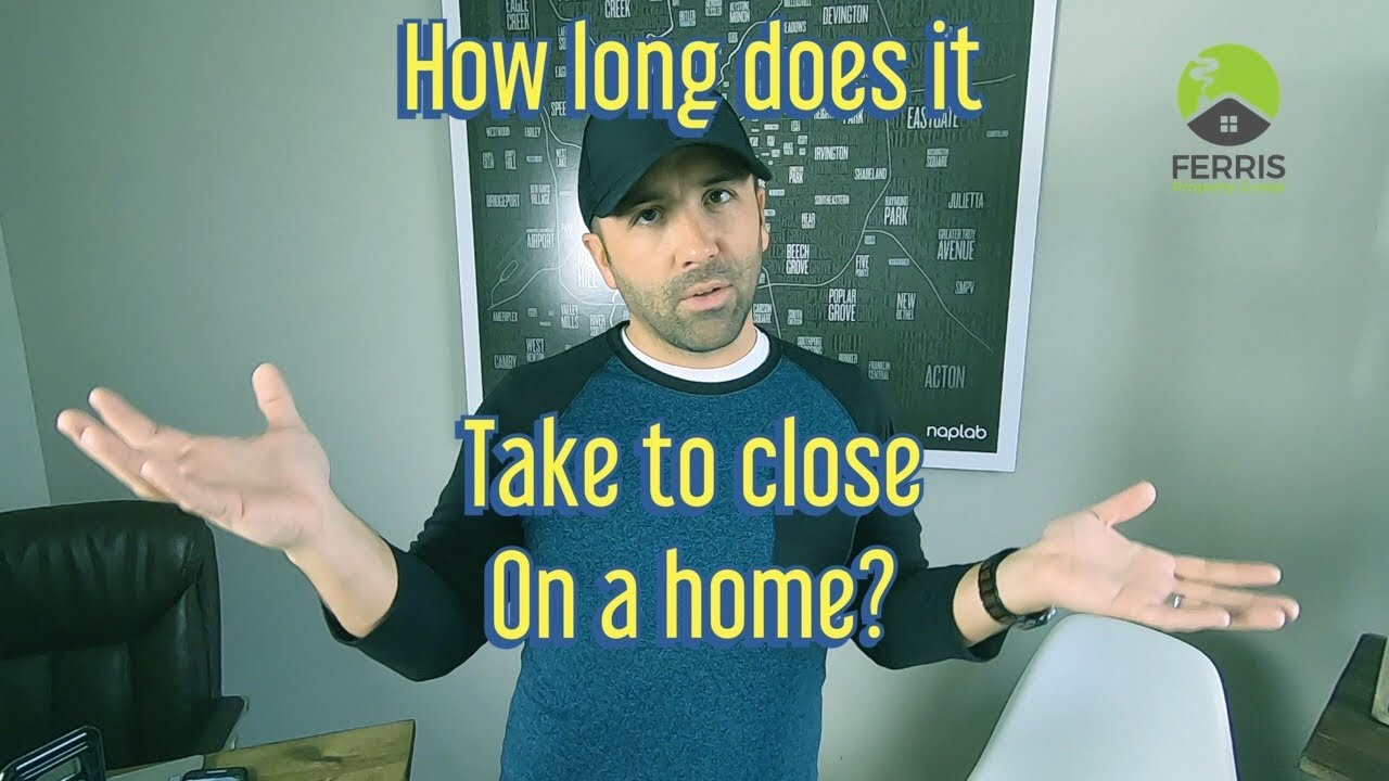 How Long Does It Take To Close On a Home In Indianapolis?