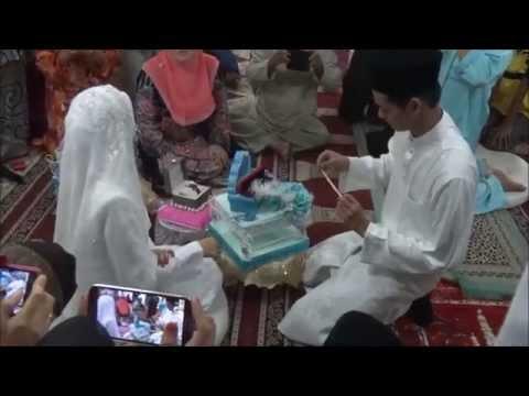 Hari Pernikahan Abdul Aziz & Athirra Rozie #azizathirra