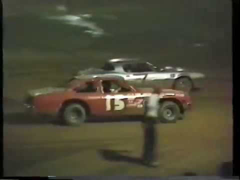 5-22-1987 Beckley Motor Speedway pure street stocks heat race - Beckley Motorsports Park