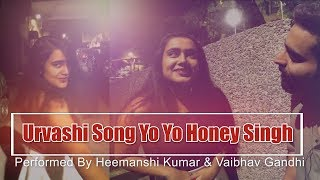 Urvashi  Song Dance | Recreated Version | Yo Yo Honey Singh Song | Ft. Heemasnshi Kumar
