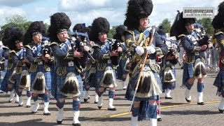 RAF PIPES & DRUMS BAND/COSFORD AIRSHOW HIGHLIGHTS (airshowvision)
