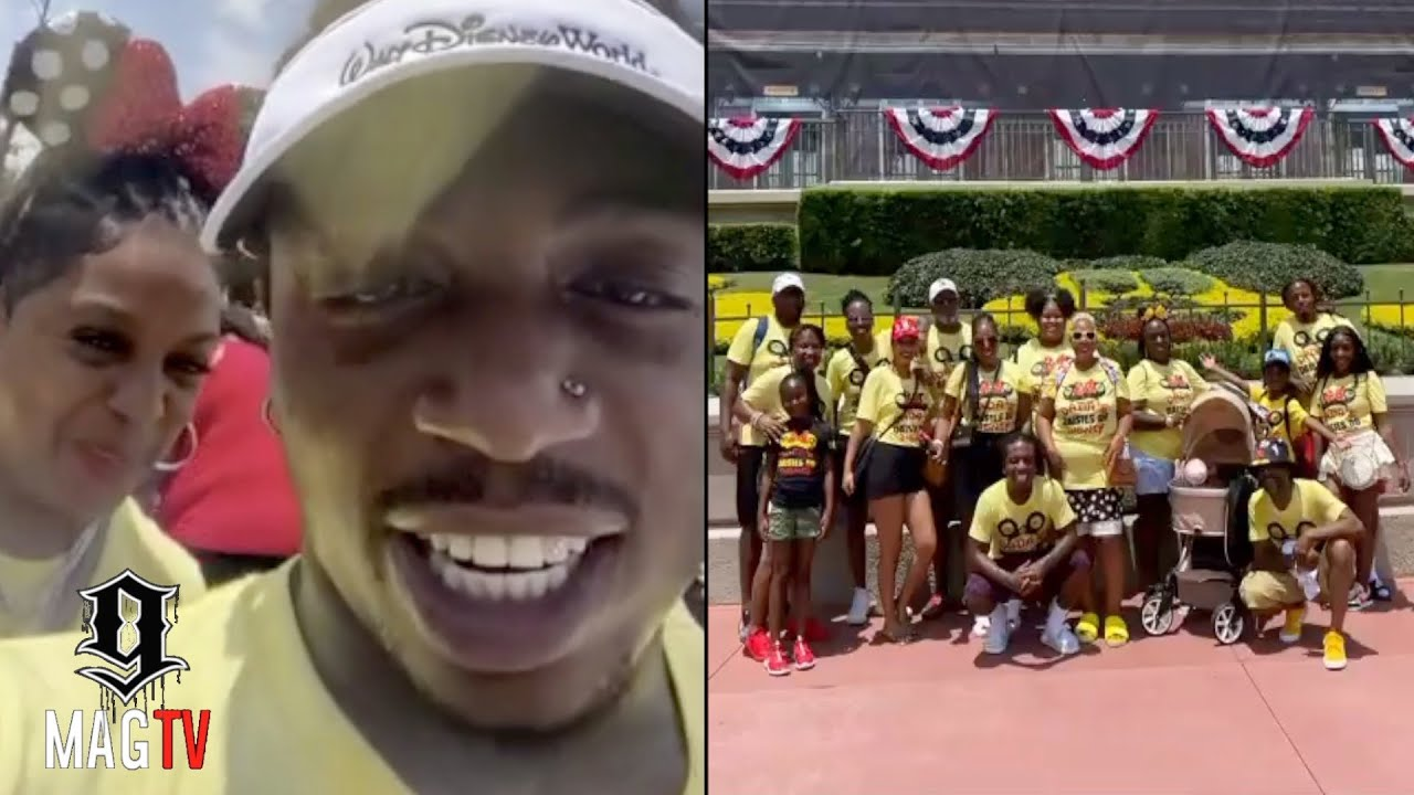 Jacquees Takes The Family To Disney World! 🎢