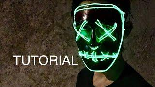 Máscara De La Purga L Tutorial L The Purge Mask Youtube