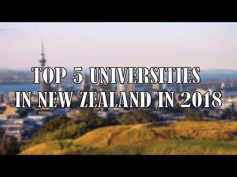 Top Universities in New Zealand   Best 5 Top Universities in New Zealand in 2018
