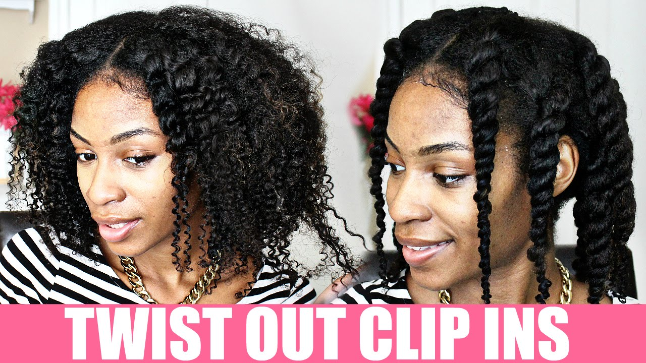 Pure Black Hair Twist Out