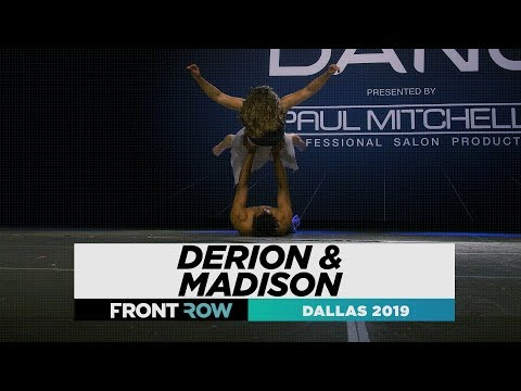 Derion & Madison | FRONTROW | World Of Dance Dallas 2019 | #WODDAL19