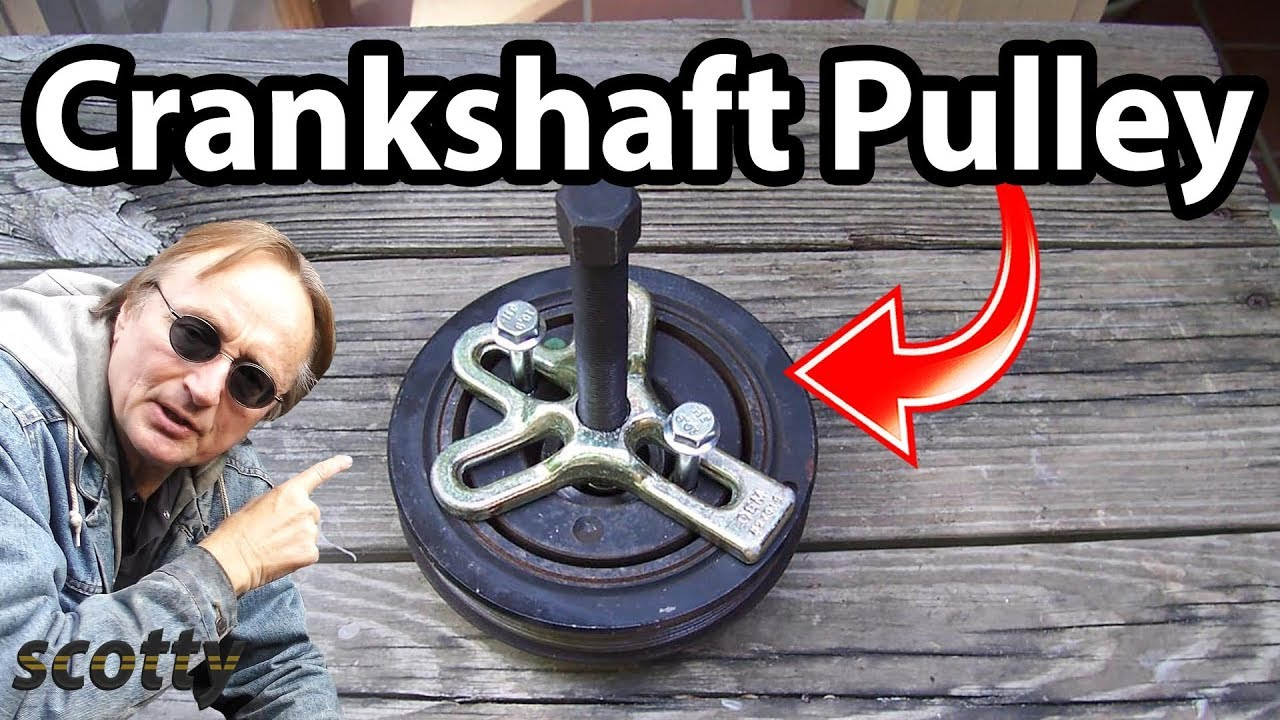How to Remove a Crankshaft Pulley in Your Car - YouTube