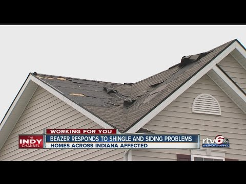 Beazer Homes responds to shingle and siding problems