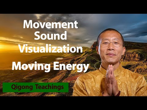 Movement, Sound, and Visualization allow you to continuously connect to the energy flow of life.