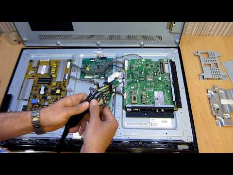 Вторая жизнь LG 32LV571S - матрица 10 бит 4 канала 120HZ