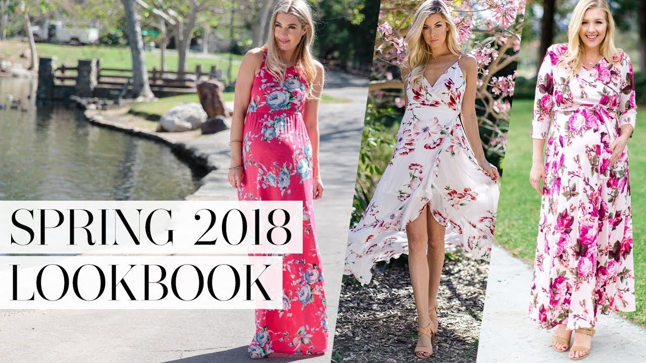 [VIDEO] - PinkBlush Spring Lookbook 2018 2