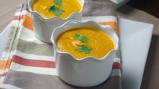 Recette De Soupe Au Lentilles Corail / Coral Lentils Soup Recipe