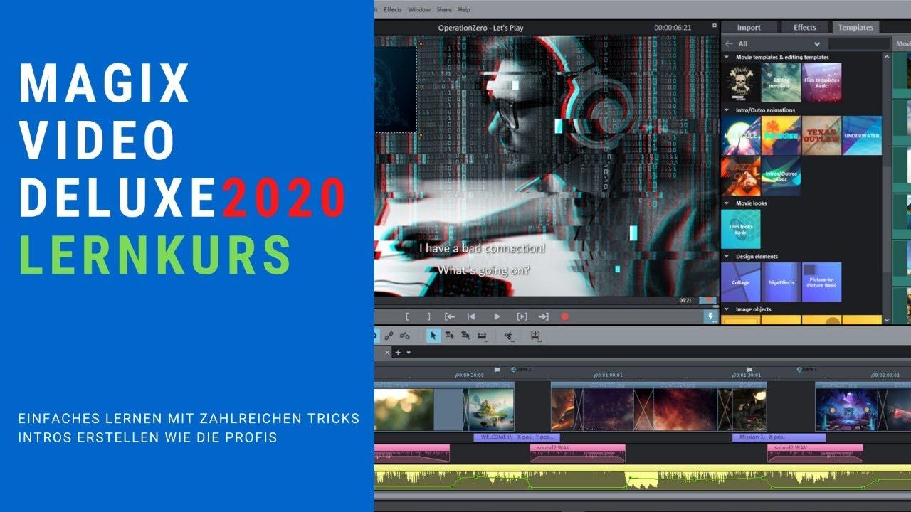 Videoschnitt wie die Profis aber halt Einfach