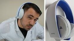 Das beste auf dem Markt? PS4 Wireless Stereo Headset 2.0/7.1 in weiß - Dr. UnboxKing