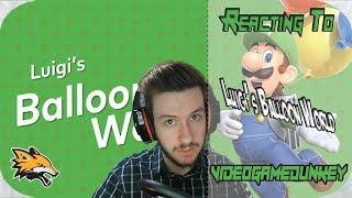Reacting to videogamedunkey Luigi's Balloon World