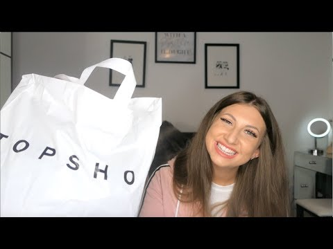 [VIDEO] - TOPSHOP TRY ON HAUL AUTUMN / WINTER 2019 | KATIE FRANCIS 2