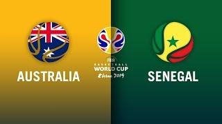 Australia v Senegal - Full Highlights | FIBA Basketball World Cup 2019