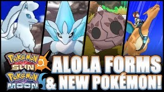 Pokémon Sun and Moon - SIX NEW POKÉMON, NEW ALOLA FORMS, NEW TRAILER REACTION!