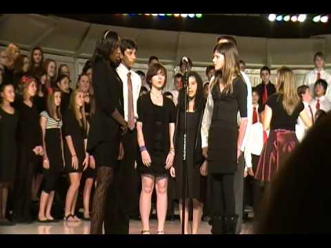 2011-12-07 Haggard Middle School Choir 6 Silent Night