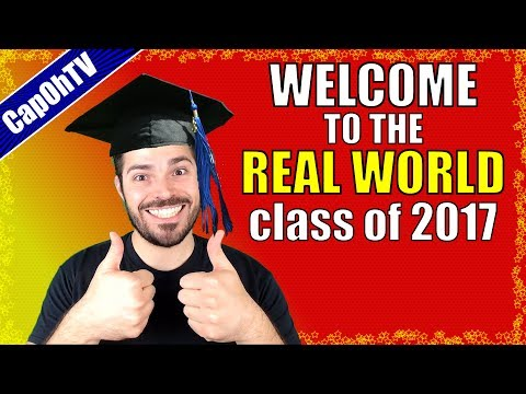 Real-World Advice for 2017 Grads!