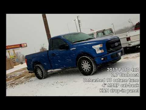 2.7 Ecoboost Tuning >> Unleashed Tuned 2017 F150 2 7 Ecoboost 60 120 Mph