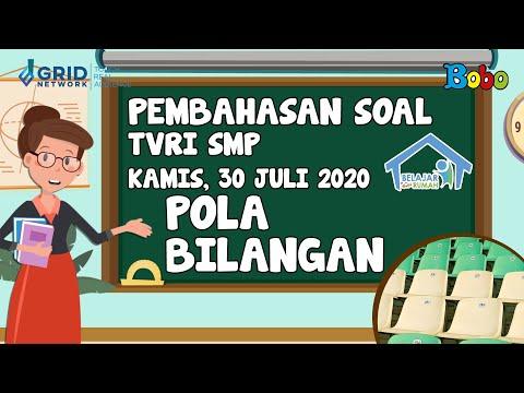 pembahasan-soal-tvri-smp---kamis-30-juli-2020---pola-bilangan-#belajardarirumah