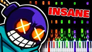 Ballistic (from Friday Night Funkin') - Impossible Piano Remix