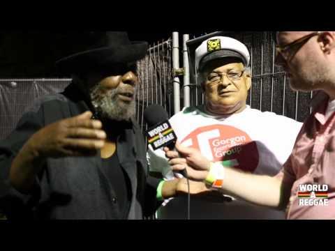 Interview U-Roy & Bunny 'Striker' Lee at Reggae Geel 2014