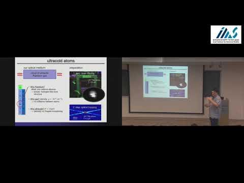 Sebastian Hofferberth - Nonlinear Quantum Optics mediated by Rydberg?Rydberg interaction