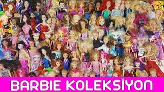 Barbie Oyuncak Bebek Koleksiyonu | EvcilikTV Barbie Bebek Videoları