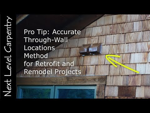 Pro Tip: How to Easily Transfer a Measurement from Inside a Wall to the Outside