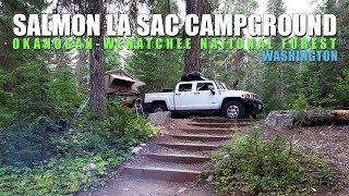 Salmon La Sac Campground, Wenatchee National Forest, Washington