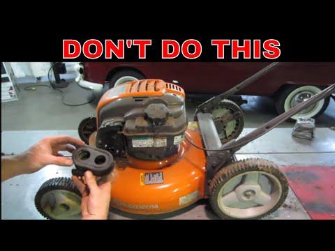 NO OIL CHANGES? Servicing A Broken Yard Sale Lawn Mower,
