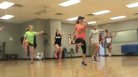 dance fitness to cant hold us by mcklemore