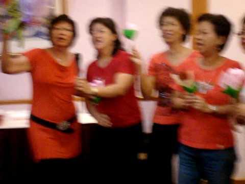 3 Agnes Cheng 63th Birthday All Girls Group Karaoke.MPG